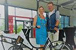 Birgit Wilms und Jan Ullrich